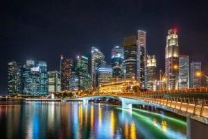 illuminated-skyscrapers-night_1150-18350
